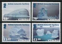 Brit Antarctic Terr BAT Stamps 2019 MNH Icebergs Landscapes Photography 4v Set