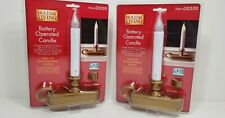 LED Holiday Living Battery Operated Candles Set of 2~ New