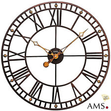AMS 48 XXL Watch Metal Clock Office Living Room Ø 60 cm 512