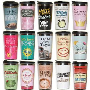Thermobecher 450ml Isolierbecher Kühlbecher Kaffee Tee Becher To Go Flasche