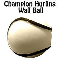 CHAMPION SIZE 4 WALL SLIOTHAR - GAA HURLING CAMOIGE HURL WALL BALL - NEW