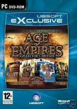 "AGE OF EMPIRES 1 & 2 COLLECTORS EDITION - PC DVD "" NEW, SEALED"""