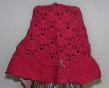 NWT Gymboree BUTTERFLY SPRING Salmon Crochet HAT 3-6 mo