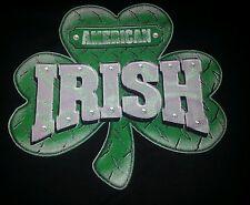 Mens T-Shirt Irish American 2 logo's front, back. See Pics For Shirt Measurments