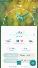 Shiny Latios Pokemon Go Account