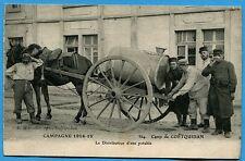 CPA: Camp de COETQUIDAN - Le Distributeur d'eau potable  / Guerre 14-18 / 1916