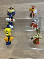 B 1994 Looney Tunes Set Of Vintage Pencil Topper Figure Toy Small Character