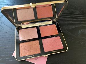 NIB Too Faced Sugar Peach Palette - Wet & Dry Face & Eye Palette 100% Authentic