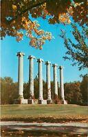 Columns of Missouri University Columbia Postcard