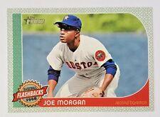 "2017 TOPPS HERITAGE FLASHBACKS JOE MORGAN 5X7"" JUMBO ART CARD #/49 ASTROS"