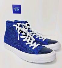 Converse Chuck Taylor All Star Hi FlyKnit 157507C Indigo Blue Size M 10.5 W 12.5