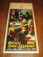 LOCANDINA,Quegli anni selvaggi These Wilder Years,James Cagney, Barbara StanwycK