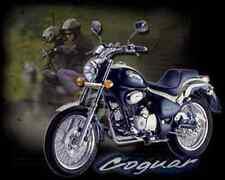 Gilera Coguar 125 A4 Photo Print Motorbike Vintage Aged