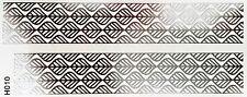 Tattoo Silber Einmal Flash Klebe Temporary 2teile Armband Hals Fuß Body WOW H10