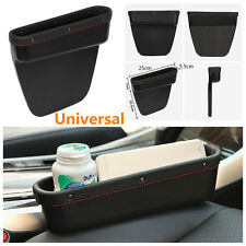 Portable Car Seat Crevice Leather Storage Bag Phone Card Organizer Leakproof Box