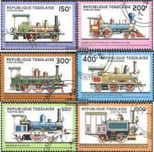 Togo 2487-2492 (kompl.Ausg.) gestempelt 1996 Lokomotiven