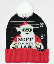 bf2dd9af8be 2017 Neff Mens Feliz Navidad Pom Beanie Green white