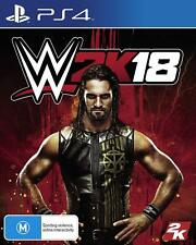 WWE 2k18 - Playstation 4 (PS4) Game Brand New Sealed