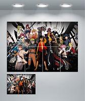 Anime Manga Giant Wall Art poster Print