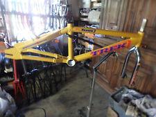 Old school BMX 98 – VERY RARE NOS FRAME Aluminum – TREK Pro Issue - Fork 4130
