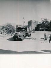 FEZ c. 1950 - Parking Entrée Ville Maroc - M29