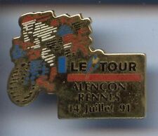RARE PINS PIN'S  VELO CYCLING TOUR DE FRANCE RENNES ~7J