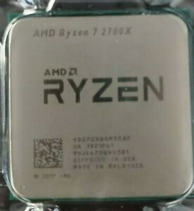 AMD Ryzen 7 2700X CPU Processor