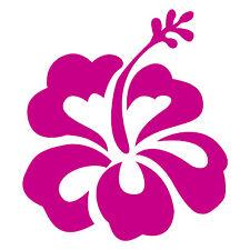 32x hibiscus flower car stickers / decals, surf camper vw stickers