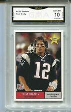 2000 Tom Brady  College  Aceo Custom Rookie Gem Mint 10