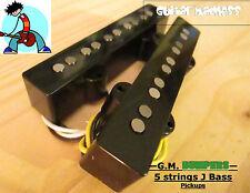 G.M. Bumpers! 5 String J-Bass Alnico 5 Pickups