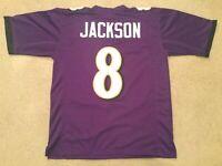 Lamar Jackson UNSIGNED CUSTOM Sewn Stitched Jersey - M, L, XL, 2XL