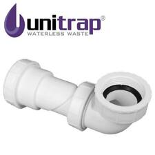 "Unitrap Waterless Waste Trap 32mm 1.1/4"" & 40mm 1.1/2"" Inline Basin Bath Shower"