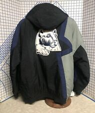 Vintage 90s Apex One NCAA Penn State Nitiny Lions hooded parka  jacket XL