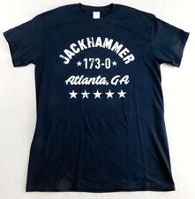 Bill Goldberg Jackhammer T-Shirt Size L Large 173-0 Exclusive WWE TNA Wrestler