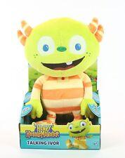 """HENRY HUGGLEMONSTER talking IVOR 10"""" plush soft toy Disney huggle monster - NEW!"""