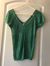 United Colors Of Benetton Women's  Shirt, size M green