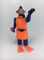 "Inspector Gadget Scuba 3.5"" Action Figure Toy 1991"