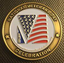 2007 National Veterans Day Celebration Charleston SC Challenge Coin Medal