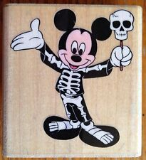 Costume Mickey Mouse Halloween Rubber Stampede Disney Stamp 434-E