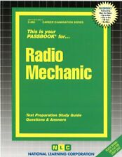 NEW Radio Repair Mechanic Test Practice Passbook Upcoming Exam 0119