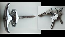 Vintage Car COBRA MG Rear Hood T-shape Handle lock  Wilmot Breeden with keys