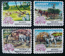 JERSEY 1998 : DAYS GONE BY: SET OF 4 USED STAMPS