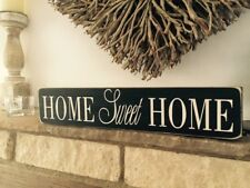 Home Sweet Home Sign Plaque Vintage Old Look Shabby Gift Mum New House Birthday