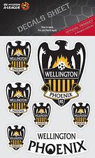 Wellington Phoenix iTag UV Sticker Sheet