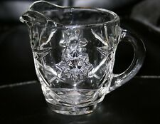 Anchor Hocking Early American Prescut Clear Creamer 29 Available Exceptional