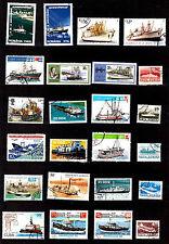 TOUS PAYS  Remorqueur,bateaux de pêche,et divers  G36