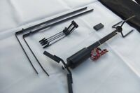 70m REMOTE CONTROLLED Black Pigeon Magnet Rotary Machine w/ Carry Case SHOOTING