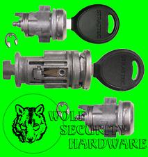 Dakota Pickup 01-04 Ignition Switch Lock Cylinder Tumbler & Door Lock Set 2 Keys