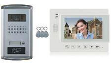 """portero automático de vídeo 4 Alambre 7"""" monitor adquisición con cámara timbre"""