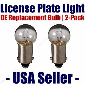 License Plate Bulb 2pk OE Replacement Fits - Listed International Vehicles - 293